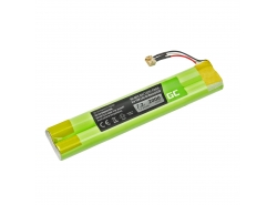 Batterij Green Cell EU-BT00003000-B voor Bluetooth luidspreker TDK Life On Record A33 A34 A34 TREK Max, NI-MH 7.2V 2000mAh