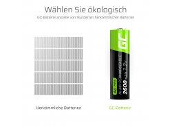 Green Cell 2x AA HR6 2600mAh Akku