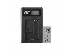Green Cell ® Akku NB-10L für Canon PowerShot G15, G16, G1X, G3X, SX40 HS, SX40HS, SX50 HS, SX60 HS 7.4V 800mAh