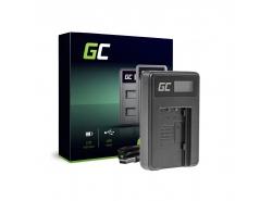 Camera batterijlader VW-BC10 Green Cell voor Panasonic VW-VBT190 HC-250 HC-V130 HC-V510 HC-V770 HC-W580 HC-WX970