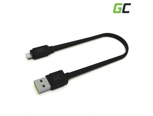 Green Cell GCmatte USB - Lightning-kabel van 25 cm voor iPhone, iPad, iPod, snel opladen