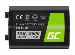 Green Cell ® Batterij AHDBT-501 AABAT-001 voor GoPro HD HERO5 HERO6 HERO7 Zwart 3.85V 1220mAh