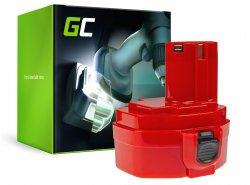 Batterij Green Cell ® voor Makita 1420 1433 1434 4033D 4332D 6228D 6337D 14.4V 3Ah