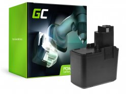 Green Cell ® batterijtool voor Bosch 3300K PSR 12VE-2 GSB 12 VSE-2