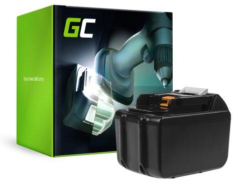 Green Cell ® batterijtool voor Makita BL1830 BL1860 BDF450SFE BTL061RF BTW450RFE 7500mAh