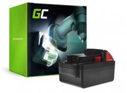 Green Cell ® Akkuwerkzeug 48-11-1830 voor Milwaukee C18 M18 18V 4000mAh