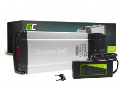 Oplaadbare batterij Green Cell achterrek 36V 8.8Ah 317Wh voor elektrische fiets e-bike Pedelec