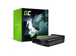 Green Cell ® snoerloos gereedschap voor Kärcher EB 30/1 elektrische bezem 7.2V 1500mAh