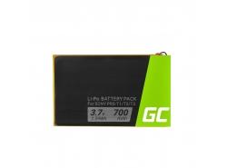 Batterij Green Cell ® 1-853-104-11 LIS1476 voor ebook Sony Reader PRS-T1 PRS-T2 PRS-T3 PRS-T3E PRS-T3S, 700mAh