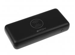 Draadloze Powerbank RDY 10000mAh QI 2x USB USB-C