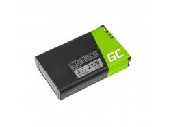 Batterij Green Cell® 361-00053-00 GPS voor Garmin Alpha 100 handheld Montana 600 600T 650 Camo 650 650T Monterra, Li-Ion 2200mAh