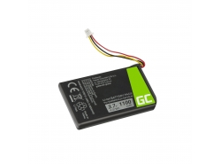 Batterij Green Cell ® 361-00056-01 voor GPS Garmin Nuvi 53 53LMT 55 55LM 56 65 65LM 66 66LM, Li-Ion 1100mAh 3.7V