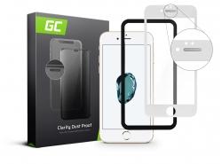 GC Clarity beschermglas voor Apple iPhone 7 8 - Wit