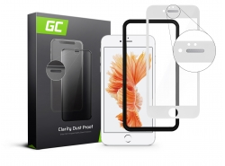 GC Clarity beschermglas voor Apple iPhone 6 Plus - Wit