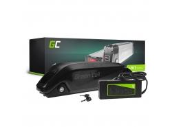 Batterij Batterij Green Cell onderbuis 36V 11.6Ah 418 Wh voor elektrische fiets e-bike Pedelec