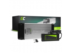 Green Cell® Fietsaccu 36V 15Ah Li-Ion E-Bike Rear Rack Green Cell Accu voor Elektrische Fiets Batterij met Lader