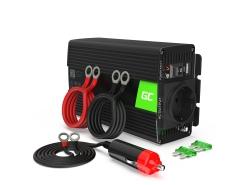 Green Cell ® 300 W / 600 W Spanningsomvormer Omvormer 12V tot 230 V Omvormer USB