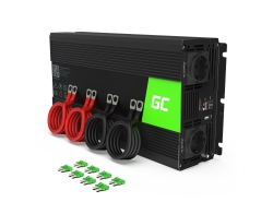 Green Cell ® 2000W / 4000W Voltage Converter Inverter 12V tot 230V Power Inverter USB