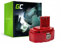 Green Cell ® batterijtool voor Makita 1815 1822 1835 192828-1 4334D 18V 3Ah