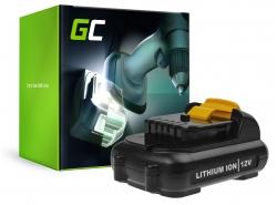 """Green Cell® batterij accu voor DeWalt DCB180 DCB181 DCB182 DCB183 DCB184 3Ah"""""""