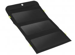 Lader, 21W Green Cell GC SolarCharge zonnepaneel met 6400mAh powerbank-functie