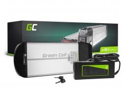 Batterij Batterij Green Cell Achterdrager 36V 10Ah 360Wh voor elektrische fiets E-Bike Pedelec
