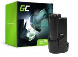 Green Cell® batterij accu (2.5Ah 12V) 5130200008 BSPL1213 B-1013L voor Ryobi RCD12011L RMT12011L RRS12011L BB-1600 BHT-2600
