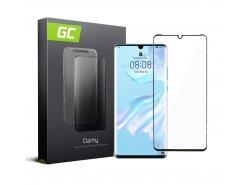 Gehard glas voor Huawei P30 Pro edge glue Beschermende film GC Clarity Helder Glas Film 9H hardheid Kogelvrij