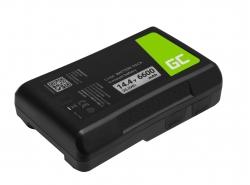Batterij Green Cell V-Mount voor Sony BP-95W 6600mAh 95Wh 14.4V
