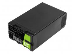 Batterij Green Cell BP-U90 BP-U60 BP-U30 voor Sony 5200mAh 75Wh 14.4V