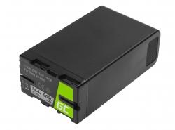 Batterij Green Cell BP-U90 BP-U60 BP-U30 voor Sony 6600mAh 95Wh 14.4V