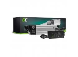 Batterij Batterij Green Cell Zilvervis 24V 8.8Ah 211Wh voor e-bike Pedelec elektrische fiets