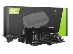 Green Cell ® Oplader voor elektrische fietsen, stekker: 3-pins, 29.4V, 2A