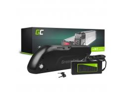 Oplaadbare batterij Green Cell onderbuis 36V 13Ah 468Wh voor elektrische fiets e-bike Pedelec