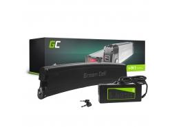 Oplaadbare batterij Green Cell celframe batterij 36V 7.8Ah 281Wh voor elektrische fiets e-bike Pedelec