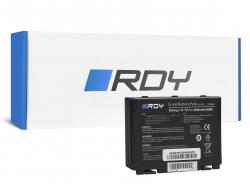 RDY Laptop Accu A32-F82 A32-F52 voor Asus K40 K40iJ K50 K50AB K50C K50I K50ID K50IJ K50iN K50iP K51 K51AC K70 K70IJ K70IO