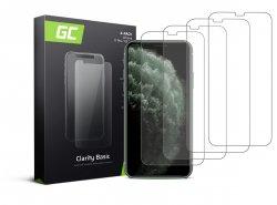 4x Gehard glas voor iPhone X / XS / 11 Pro Beschermende film GC Clarity Helder Glas Film 9H