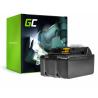 Green Cell ® batterijtool voor Makita BL1830 BDF450SFE BTL061RF BTW450RFE