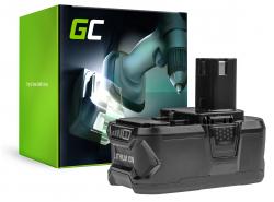 Green Cell ® Akkuwerkzeug RB18L50 voor Ryobi ONE + P1100 P200 P300 P400 P500 P600 P700 18V 5000mAh