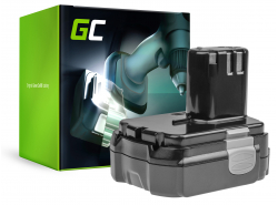 Green Cell ® Akkuwerkzeug für Hitachi CJ14DL BCL1415 14.4V 2.5Ah