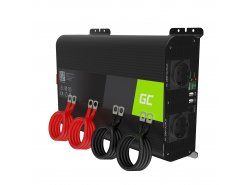 Green Cell ® 2000W / 4000W zuivere sinusomvormer Omvormer 12V 230V-omvormer