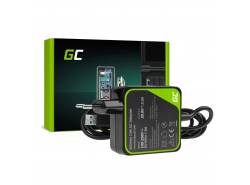 Voeding / lader Green Cell PRO 20V 2A 40W voor Lenovo Yoga 3 i Lenovo Yoga 3 PRO
