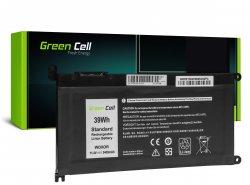 Green Cell celbatterij WDX0R WDXOR voor Dell Inspiron 13 5368 5378 5379 14 5482 15 5565 5567 5568 5570 5578 5579 7560 7570