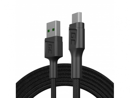 Green Cell GC PowerStream USB-A - Micro USB 200 cm kabel, Ultra Charge snel opladen, QC 3.0