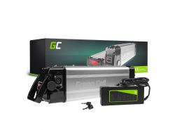 Batterij Batterij Green Cell Zilvervis 36V 8.8Ah 317Wh voor elektrische fiets e-bike Pedelec