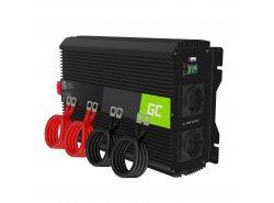 Green Cell ® 3000W / 6000W Voltage Converter Inverter 12V tot 230V Power Inverter USB