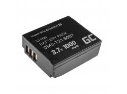 Green Cell ® -batterij voor Panasonic Lumix DMC-TZ1 DMC-TZ2 DMC-TZ4