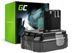Green Cell ® draadloos gereedschap voor Hitachi CJ14DL 14.4V 1.5Ah