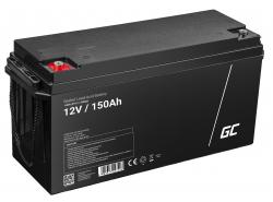 Green Cell ® -batterij AGM VRLA 12V 150Ah
