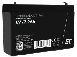 Green Cell ® Batterij AGM 6V 7.2Ah